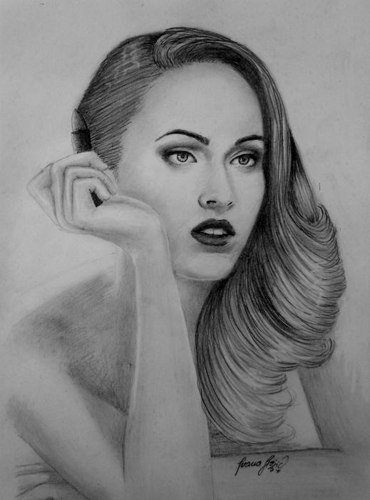 Megan Fox by penInna